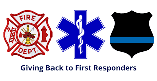 We offer discounts to all first responders